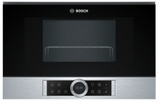 Kuchenka mikrofalowa Bosch BER 634GS1 Srebna