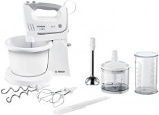 Mikser ręczny Bosch MFQ 36490 biały / szary