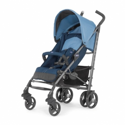 Chicco wózek spacerowy Lite Way Top z pałąkiem Blue