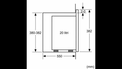 Kuchenka mikrofalowa Bosch BFL 524MS0