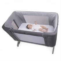 Łóżko przystawne Next2Me Forever Moon Grey