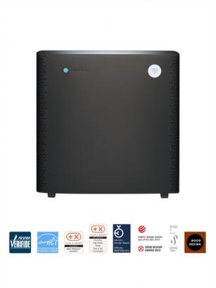 Oczyszczacz powietrza Blue Air Sense + PA Grafitowo-czarny